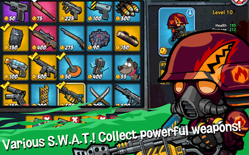 Screenshot 2 SWAT and Zombies Season 2 1.2.6 APK MOD