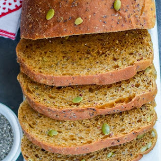 Multi Seeds Molasses Wheat Bread with Coconut Oil