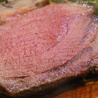 Beef Sirloin Roast.