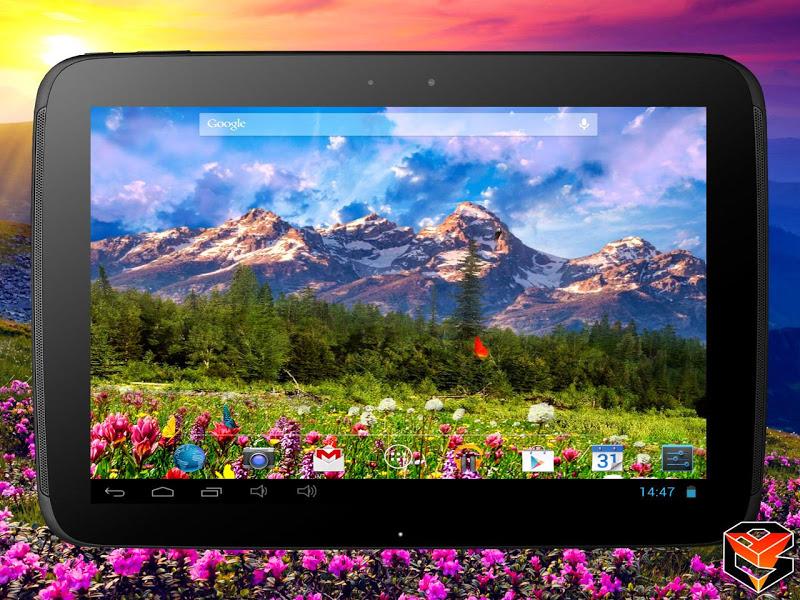 Mountain Flowers Pro Live Wallpaper Screenshot 8