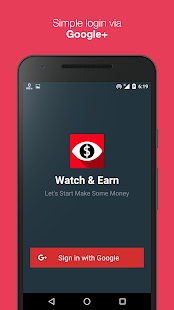 Watch & Earn - Earn Real Money Screenshot