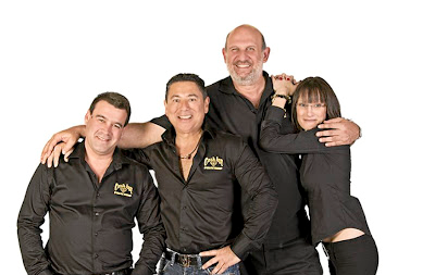 The Cash Inn Pawn Shop team, which plays the buying and selling game.  Picture: SUPPLIED