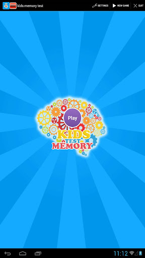 brain games : kids memory test