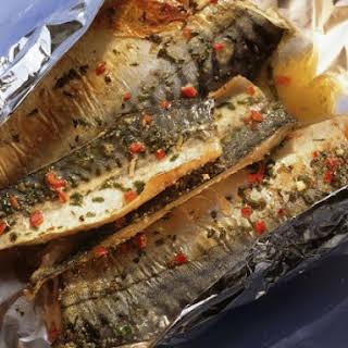 Baked Mackerel.