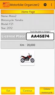 Motorbike Organizer 2 - náhled