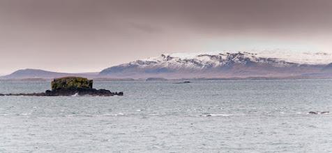 Photo: El primer tramo del trayecto estaba repleto de pequeños pesñascos en medio del mar. Supongo que en antaño, aquí tuvo que haber bastantes naufragios.