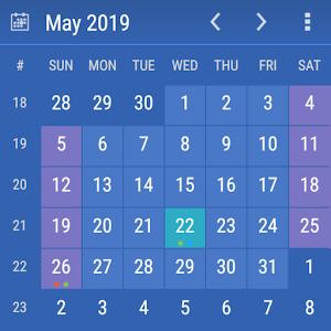 Calendar Widget Month Agenda 6.19 by Milan Sillik logo