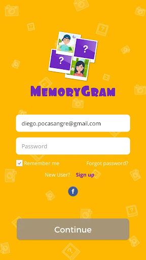MemoryGram Game 1.0 screenshots 1