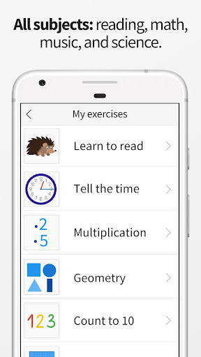 ANTON - Free Learning App for Elementary School 1.6.2 Screenshots 3