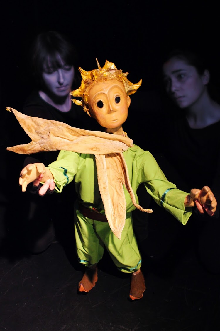 Little Prince puppet. Picture: SUPPLIED
