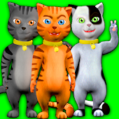 Talking Cat Leo: Virtual Pet