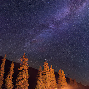 Milky way by Danil Korzhonov - Landscapes Mountains & Hills ( tien-shan )