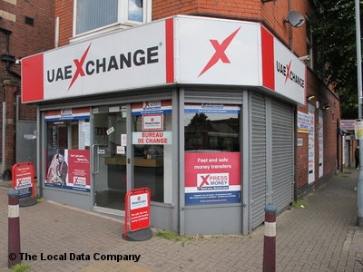 U a e xchange on soho road bureaux de change in handsworth
