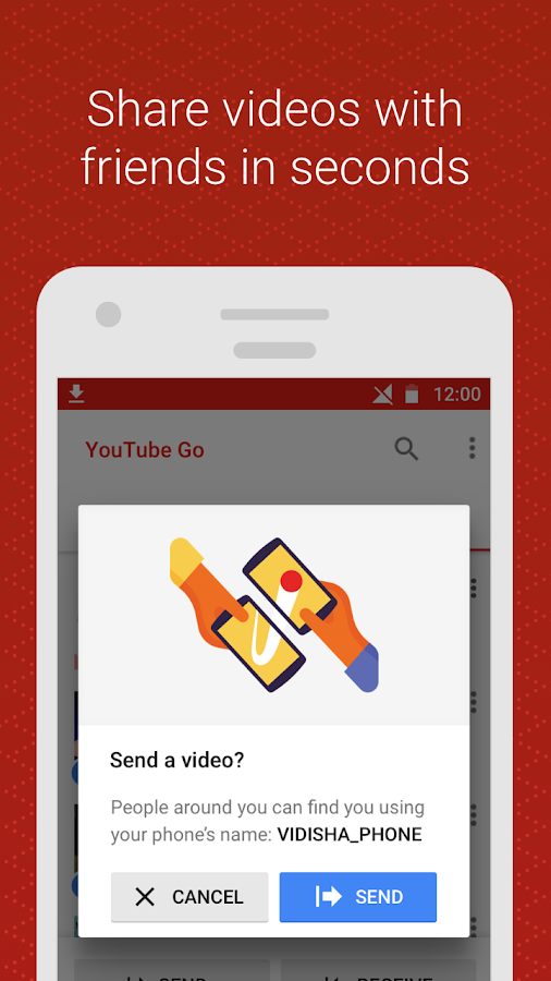 YouTube Go (Unreleased)- screenshot
