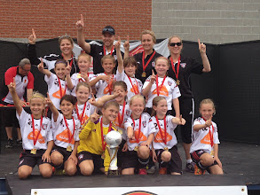 Photo: 2014 FU9 Defi Boisbriand tournament champions (div 2)