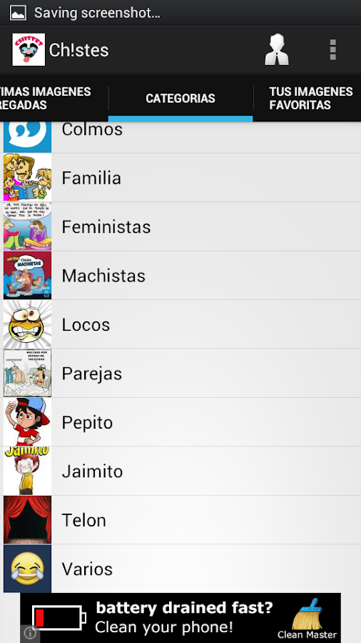 Chistes para Whatsapp- screenshot