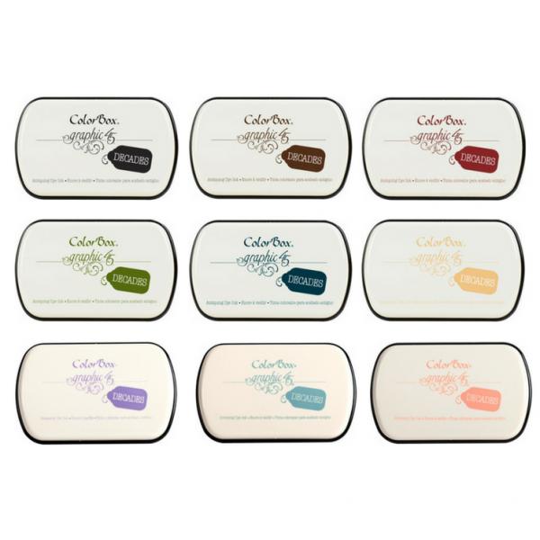 ClearSnap Decades Dye Inkpad Package