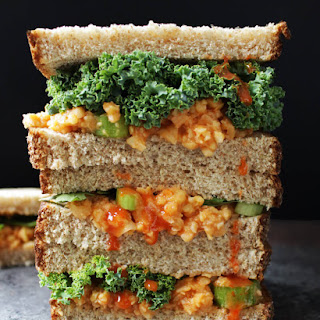 Buffalo Chickpea Salad Sandwich Recipe