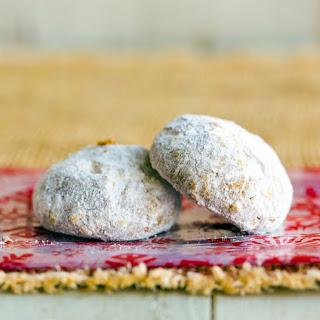 Vegan Pfeffernüsse Cookies.