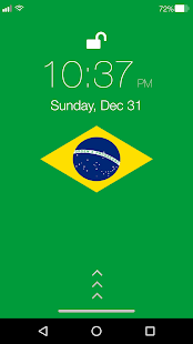 Brasil Pin Lock Screen - náhled