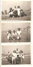 Photo: Familie dagje strand.