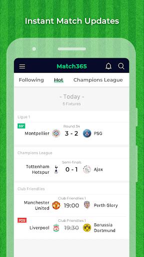 Match365 1.2.0 screenshots 1