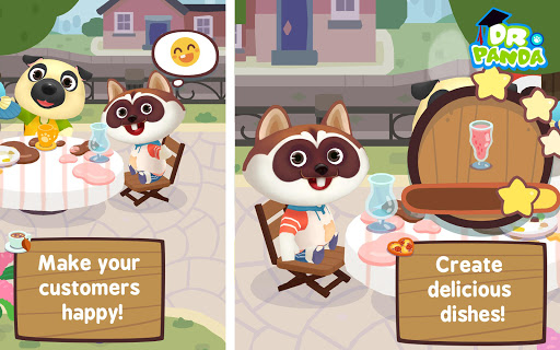 Dr. Panda Cafu00e9 Freemium  screenshots 3