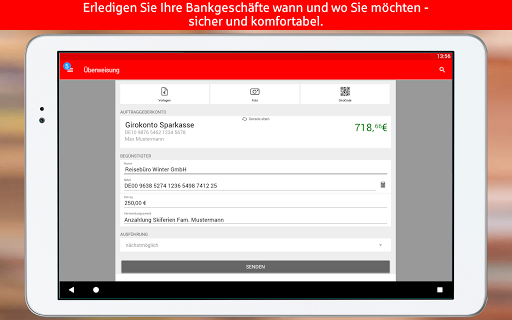(APK) تحميل لالروبوت / PC Sparkasse+  Finanzen im Griff تطبيقات screenshot