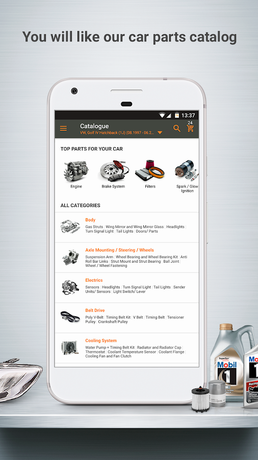 Inexpensive Car Parts Online