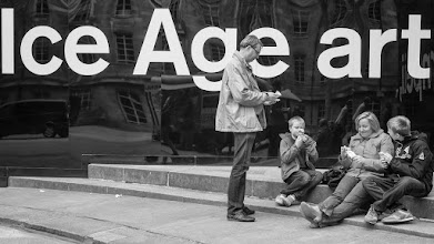 Photo: London #32 - Ice Age art...  #street #streetphotography #shootthestreet #blackandwhite #blackandwhitephotography #bw #monochrome #london