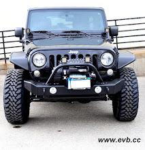 Photo: Garvin front Bumper, Rigid D2 lights, Warn Powerplant