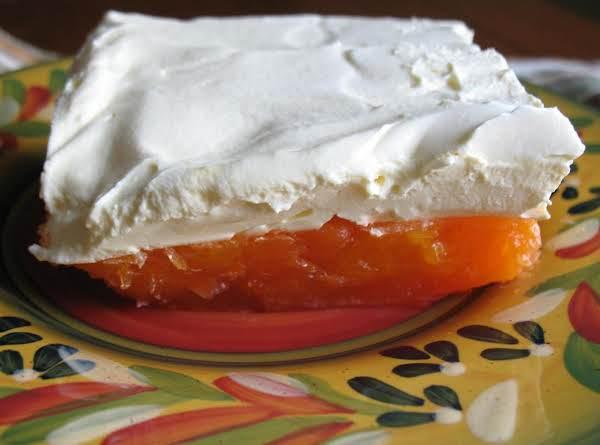 Orange Delight Jello Salad Recipe