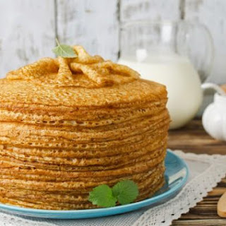 Yeast Crepes On Kefir