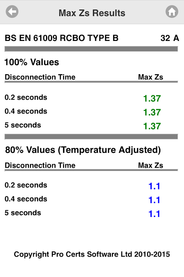 Max Zs Values- screenshot