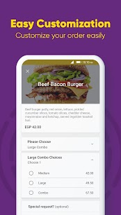 Otlob - Food Delivery Screenshot