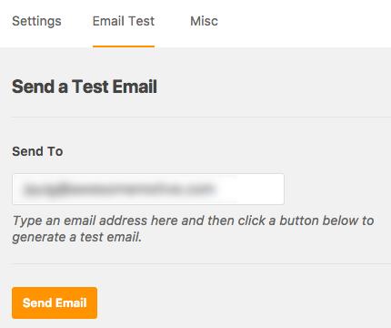 Envíe un correo electrónico de prueba a través de WP Mail SMTP