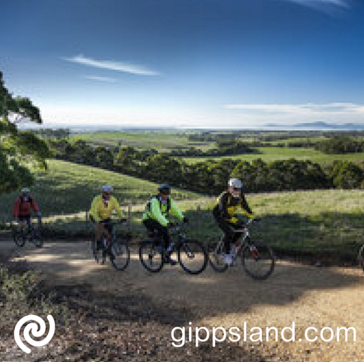 The Gippsland Tracks and Trail Project is the region's integrated plan to bring the various tracks and trails throughout Gippsland together into an internationally acclaimed tourist attraction