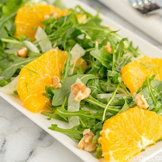 Arugula, Fennel, and Navel Orange Salad