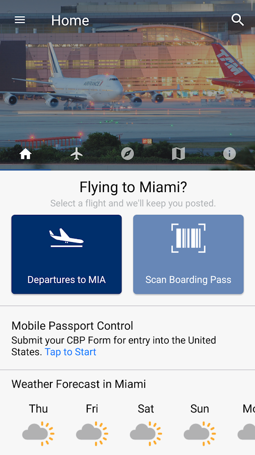 MIA Airport Official- screenshot
