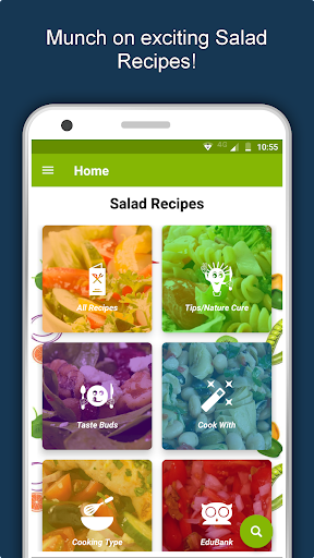 Salad Recipes: Healthy Foods with Nutrition & Tips 2.2.4 screenshots 2