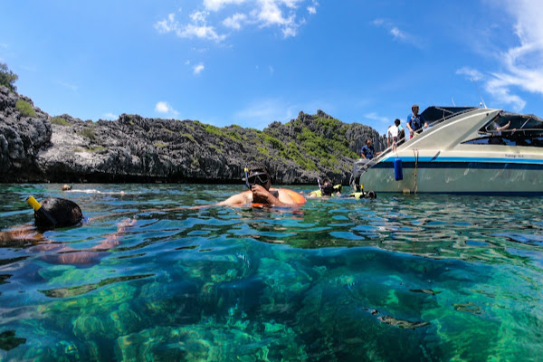 Snorkel in immaculate water around Wao Island