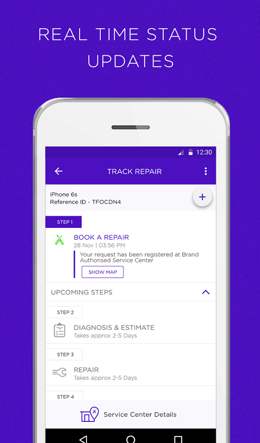 Servify - Device Assistant- screenshot