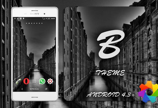 Theme Xperien Halla Black Pro