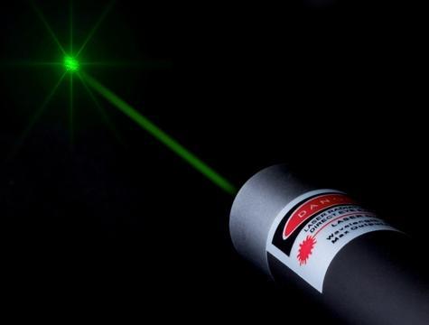 懐中電灯レーザーポインター