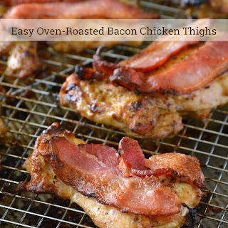 Chicken Thighs Bacon Recipes.