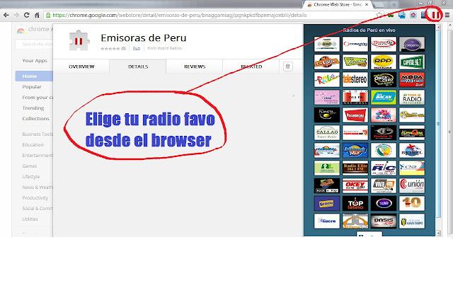 Emisoras de Peru