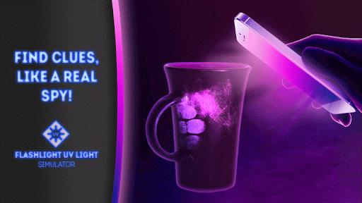 懐中電灯UV光シミュレータ