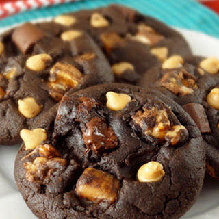 Snickers Chocolate Cookies