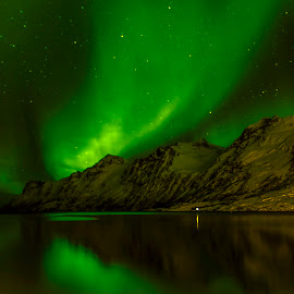 Aurora Borealis by Stanley P. - Landscapes Starscapes