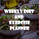 Download Weekly Diet and Exercise Planner - Weight loss For PC Windows and Mac